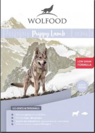 WOLFOOD PUPPY LAMB produit recommandé par l'Élevage Canin Réa